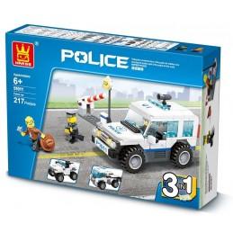 Carro de polícia 3 em 1