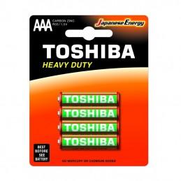 TOSHIBA - Pack 4 Pilhas R03...