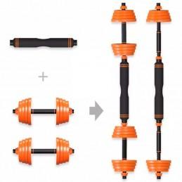 Kit de Musculação Halteres...