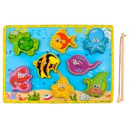 Puzzle Magnetic Game Fishing